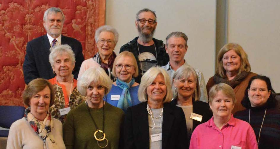 Our board team (above, left to right):  Afric Eustace, Campbell Stuart, Susan Purcell,Carolyne Harrison, Suzanne Herscovitch, Sandra Baines, Sam Beitel, Cecily Lawson, Eric Widdicombe, Sheila McCarthy,Karen Mitchell (replaced by Shmoal Loterman), Dale MacDonald and Evelyn McAdam.